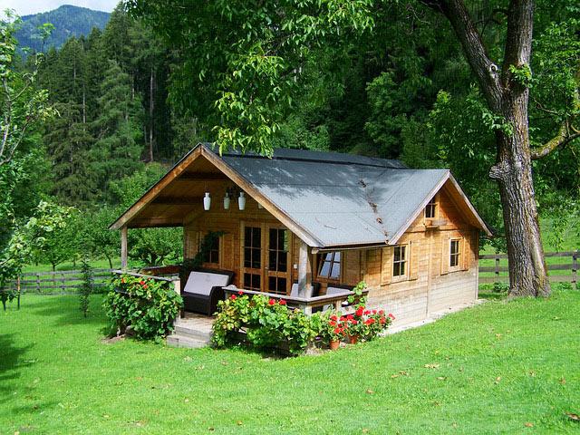 Ein guter Gartenhaus Standort