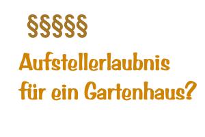 Mieter Gartenhaus